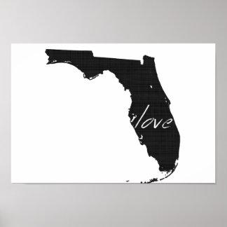 Love Florida Poster
