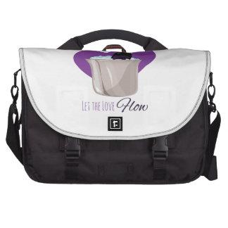 Love Flow Laptop Bag