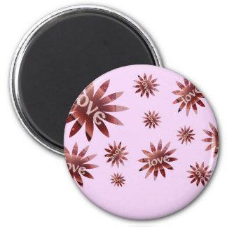love flower_edited-1 2 inch round magnet