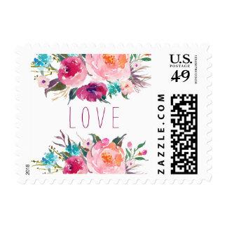 Love flower Stamp