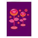 Love Flowers Card