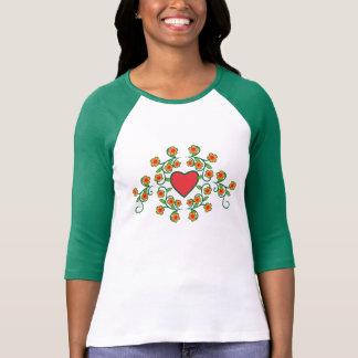 Love Flowers Women Shirt