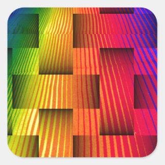 Love Flows_ Square Sticker