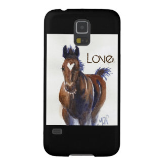 Love Foal Horse Samsung Galaxy S5 Phone Case