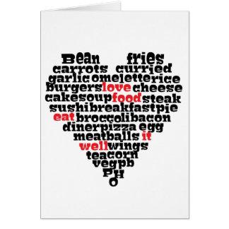 Love Food Card