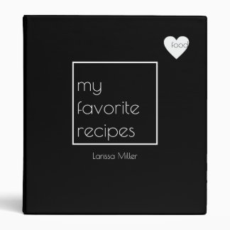 love food, favorite recipes, the chef binder
