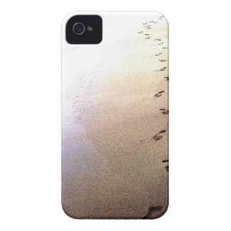 Love Footprints Two Sets Walking Beach Barbados iPhone 4 Case
