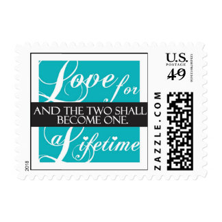 Love for a Lifetime postage