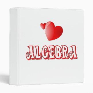 Love for Algebra 3 Ring Binder