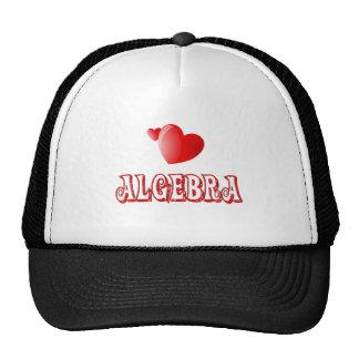 Love for Algebra Mesh Hats