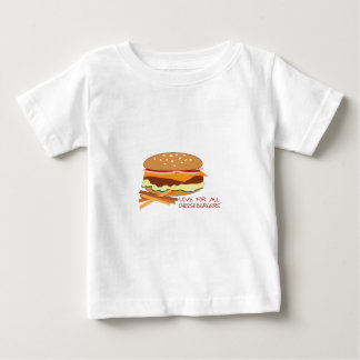 Love For All Cheeseburgers Tee Shirts