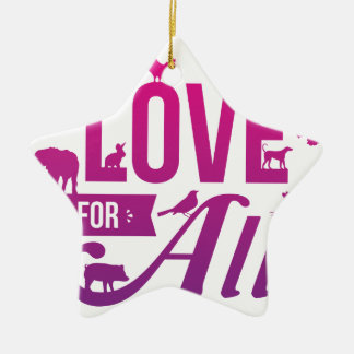 Love for All_FIN.png Ceramic Ornament