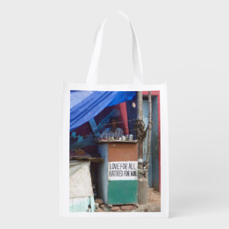 Love  for All, Hatred for None, Chennai Reusable Grocery Bag