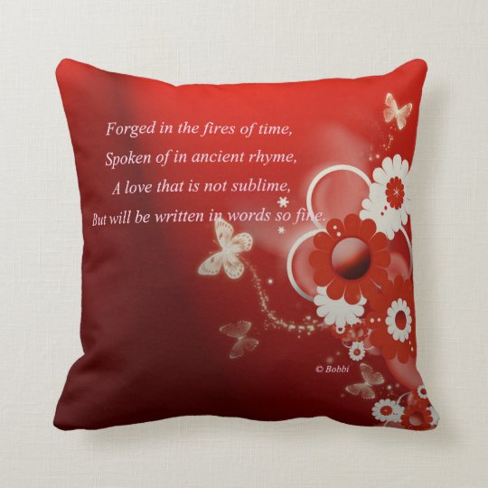 Love For All Time Throw Pillow