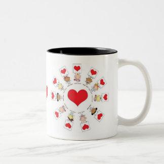 Love For All Two-Tone Coffee Mug