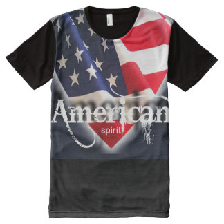 love for america All-Over print t-shirt