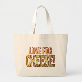 Love For Blue Cheese Large Tote Bag