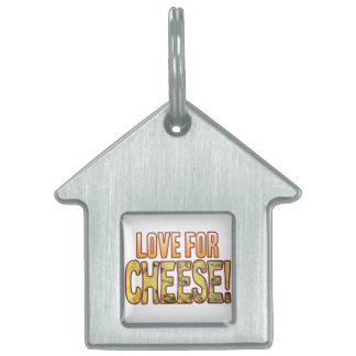 Love For Blue Cheese Pet Tag