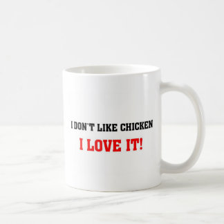 Love for chicken coffee mug