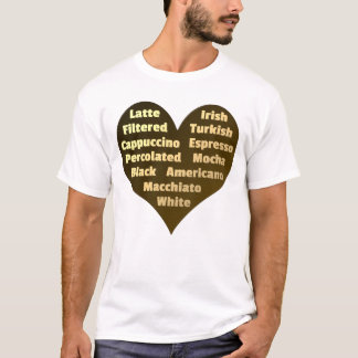 Love for Coffee Men's T-Shirt