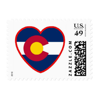 Love for Colorado Postage Stamp