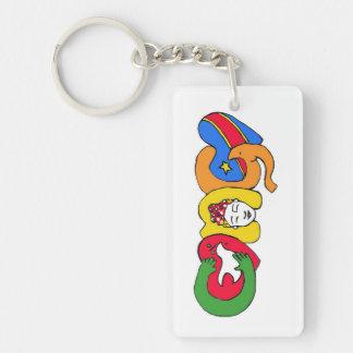 Love for Congo Keychain