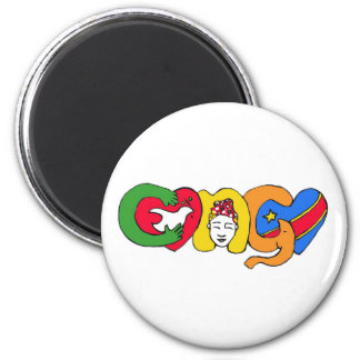 Love for Congo Magnet