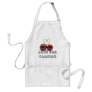 love for cooking adult apron
