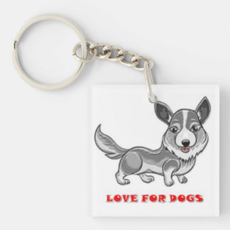 LOVE FOR DOGS - Key Chain