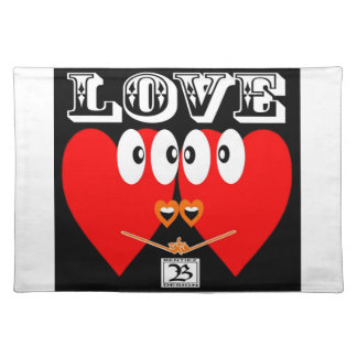 LOVE FOR EVERY DAY CLOTH PLACEMAT