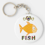 Love for Fish Key Chain