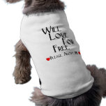 Love For Free Pet Tee