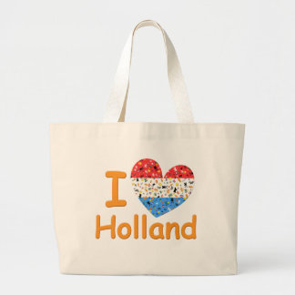Love for Holland Large Tote Bag