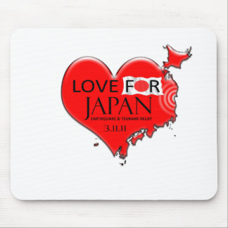 LOVE FOR JAPAN MOUSE PADS
