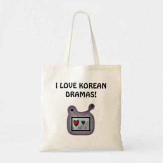 Love for Korean Dramas Budget Tote Bag