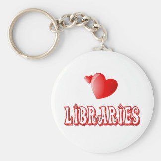 Love for Libraries Keychains