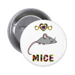 Love for Mice Pin