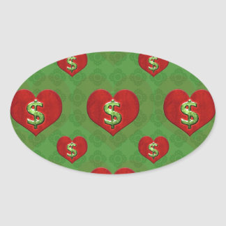 Love for Money Pattern Stickers