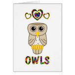 Love for Owls Greeting Cards