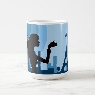 Love for Paris Classic White Coffee Mug