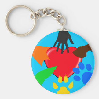 Love for Pets Keychain