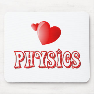 Love for Physics Mouse Pad