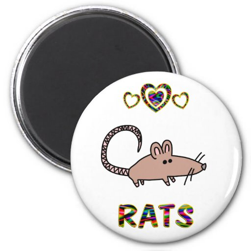 Love for Rats Magnet