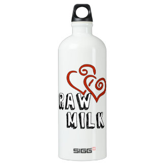 Love for Raw Milk Water Bottle