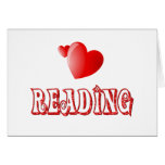 Love for Reading Greeting Card