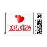 Love for Reading Postage Stamps