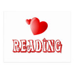 Love for Reading Postcard