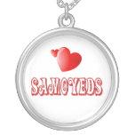 Love for Samoyeds Custom Necklace