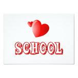 Love for School Invitations
