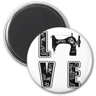 love for sewing magnet